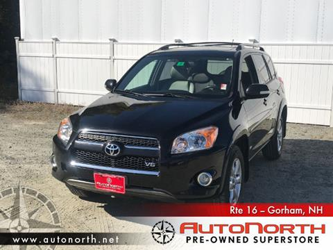 2010 Toyota RAV4 for sale in Gorham, NH