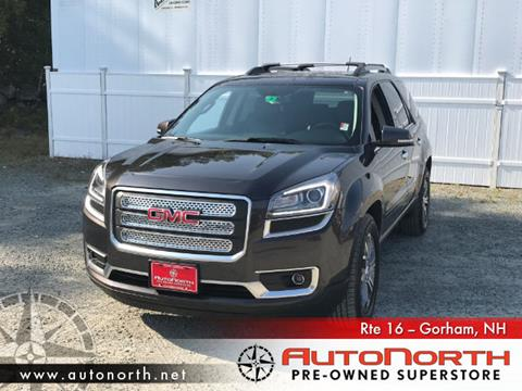 2014 GMC Acadia for sale in Gorham, NH