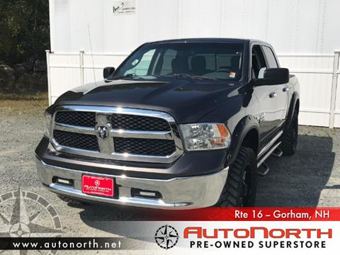 2016 RAM Ram Pickup 1500 for sale in Gorham NH