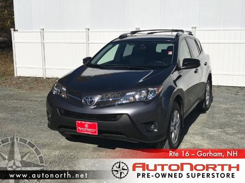 2015 Toyota RAV4 for sale in Gorham, NH