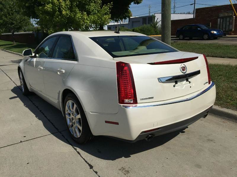 2008 cadillac cts 3 6l di awd 4dr sedan in warren mi. Black Bedroom Furniture Sets. Home Design Ideas