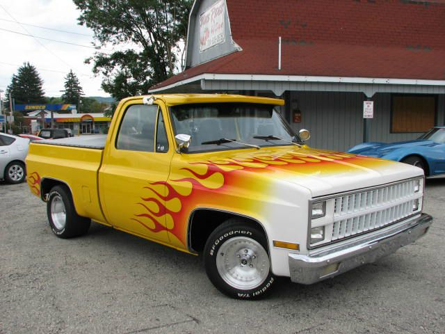 sale    Yellow 1981 Chevrolet C10 Truck in Youngwood PA   3481726447
