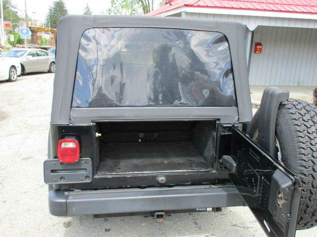 2004 Jeep Wrangler Unlimited 4WD 2dr SUV - Youngwood PA