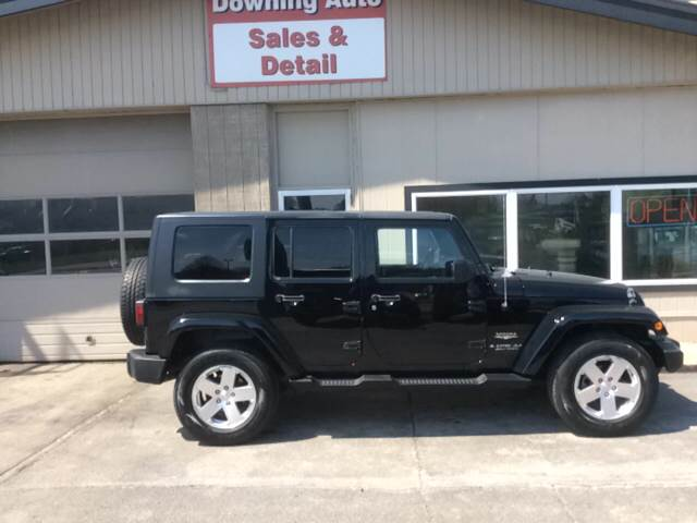 2008 jeep wrangler unlimited sahara 4x4 suv in des moines ia downing auto sales detail. Black Bedroom Furniture Sets. Home Design Ideas