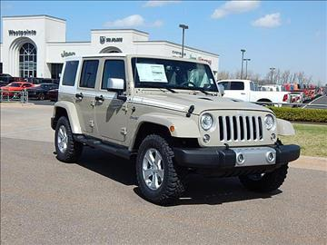 2017 Jeep Wrangler Unlimited for sale in Oklahoma City, OK