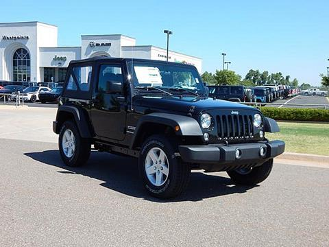 2017 Jeep Wrangler for sale in Oklahoma City, OK
