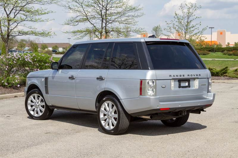 2007 Land Rover Range Rover Supercharged 4dr SUV 4WD - Noblesville IN