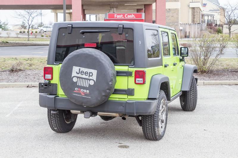 2013 Jeep Wrangler Unlimited Rubicon 4x4 4dr SUV - Noblesville IN
