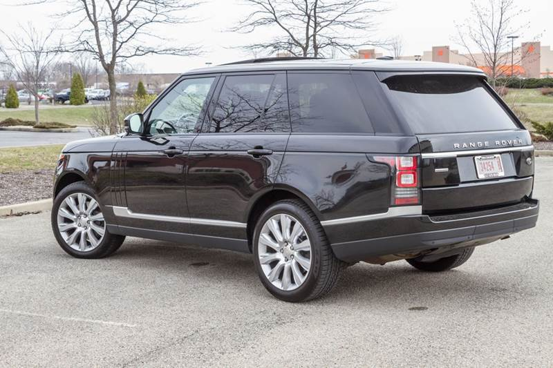 2014 Land Rover Range Rover 4x4 Supercharged 4dr SUV - Noblesville IN