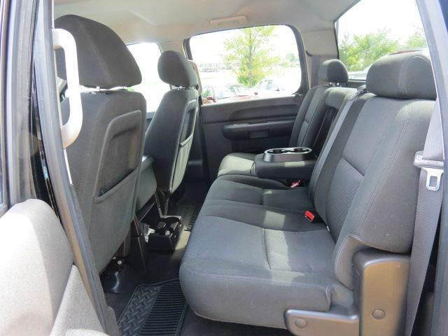 2012 Chevrolet Silverado 1500 LT 4x4 4dr Crew Cab 5.8 ft. SB - Noblesville IN