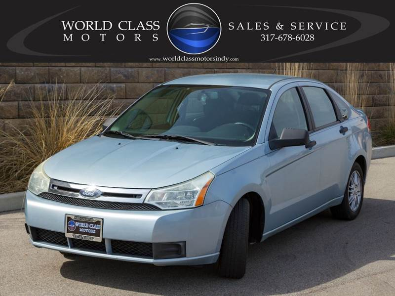 2009 Ford Focus & Ford Used Cars Bad Credit Auto Loans For Sale Noblesville World ... markmcfarlin.com