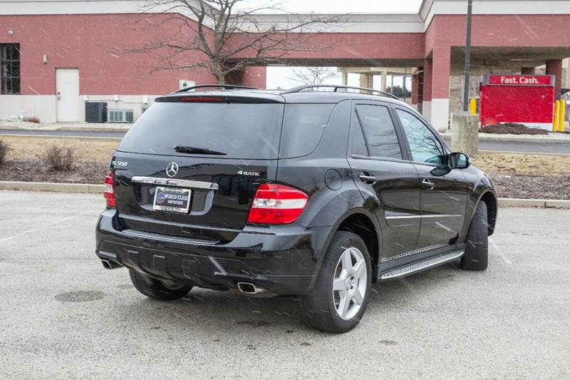 2008 Mercedes-Benz M-Class ML 550 AWD 4MATIC 4dr SUV - Noblesville IN