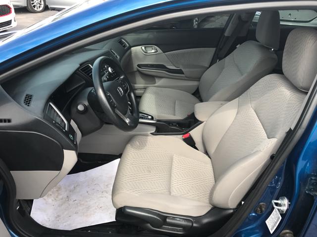 2015 Honda Civic LX 4dr Sedan CVT - Indianapolis IN