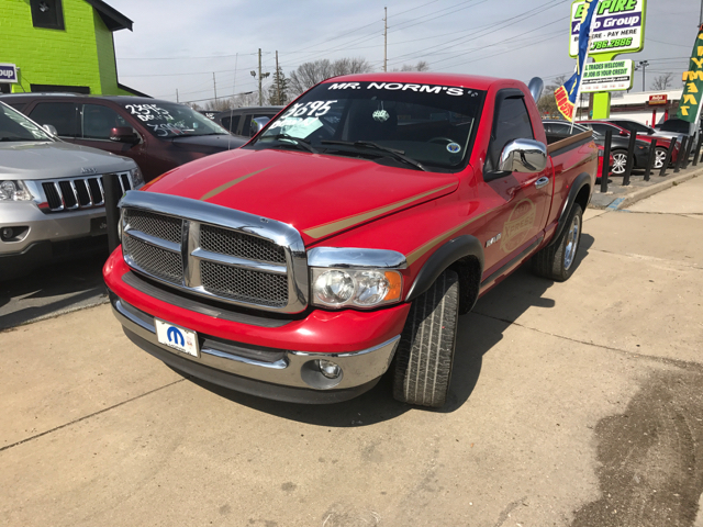 2002 Dodge Ram Pickup 1500 SLT 2dr Regular Cab 2WD SB - Indianapolis IN