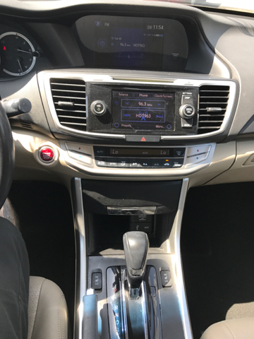2013 Honda Accord EX L w/Navi 4dr Sedan - Indianapolis IN