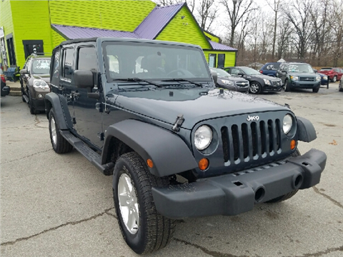2007 jeep wrangler unlimited for sale in indianapolis in. Cars Review. Best American Auto & Cars Review