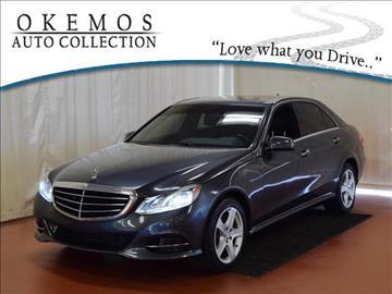2014 Mercedes-Benz E-Class for sale in Okemos, MI