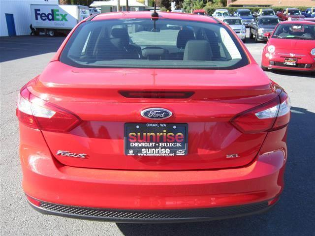 2012 Ford Focus SEL Sedan 4D - OKANOGAN WA