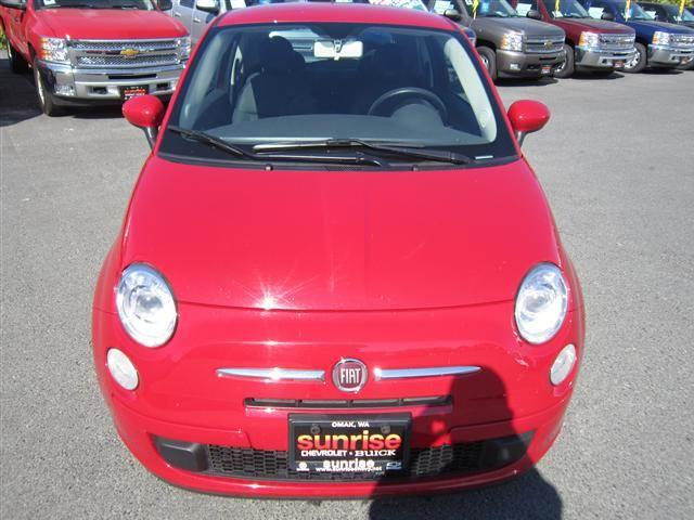 2012 Fiat 500 Pop Hatchback 2D - Omak WA