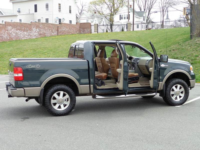 2005 ford f 150 4dr supercrew king ranch 4wd styleside 5 5 ft sb in lynn ma performance auto. Black Bedroom Furniture Sets. Home Design Ideas