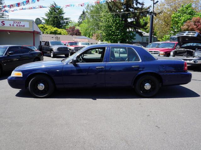 2010 Ford Crown Victoria Police Interceptor - Portland OR