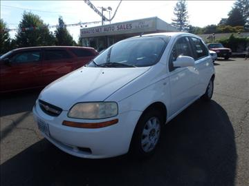2005 Chevrolet Aveo for sale in Portland, OR