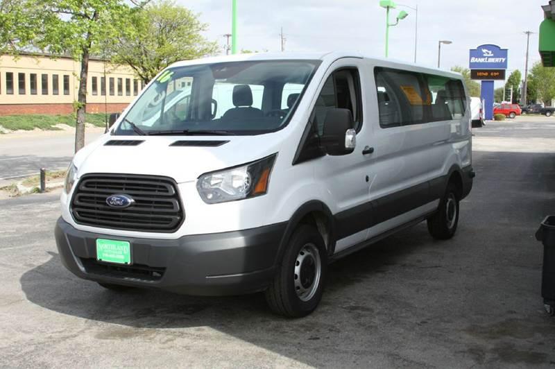 2016 Ford Transit Wagon 350 XLT 3dr LWB Low Roof Passenger Van w/Sliding Passenger Side Door - North Kansas City MO