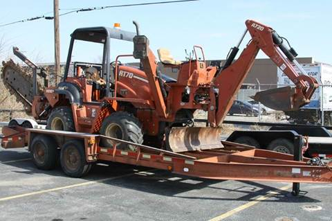 2002 Ditch-Witch rt70h