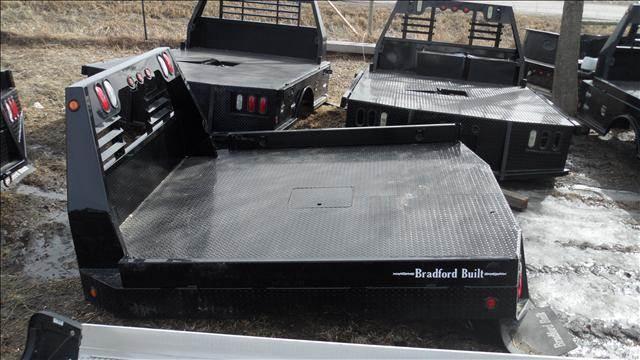 2012 Bradford Built Flatbed