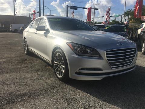 2015 Hyundai Genesis for sale in Hialeah, FL