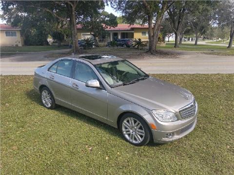 2009 Mercedes-Benz C-Class for sale in Hialeah, FL