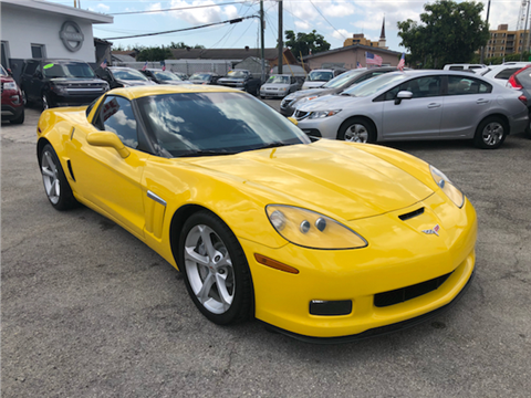 2012 Chevrolet Corvette For Sale In Hialeah, FL