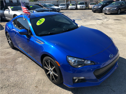 Used Brz For Sale >> 2015 Subaru Brz For Sale In Hialeah Fl