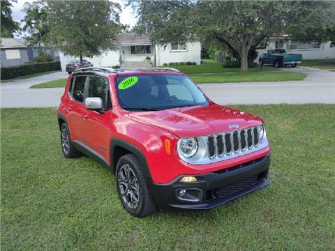2016 Jeep Renegade for sale in Hialeah, FL