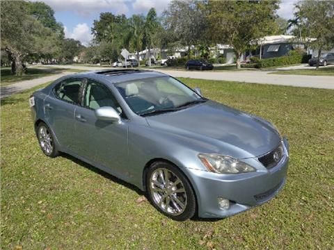 2006 Lexus IS 350 for sale in Hialeah, FL