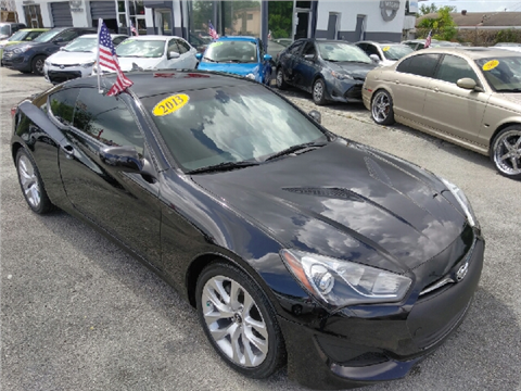 2013 hyundai genesis coupe for sale in florida. Black Bedroom Furniture Sets. Home Design Ideas