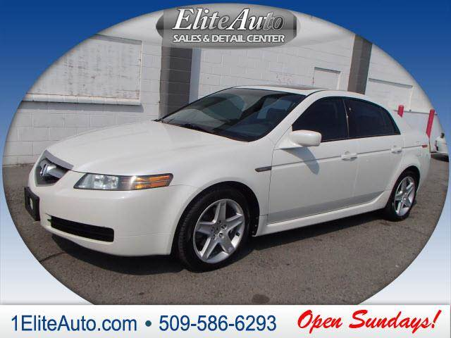 2004 ACURA TL 32 WNAVI 4DR SEDAN silver picture yourself in this beauty  soft and luxurious le