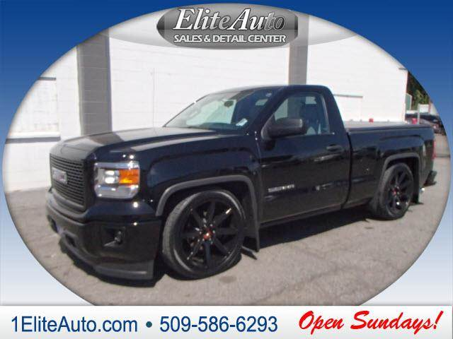 2014 GMC SIERRA 1500 black power steeringpower door lockspower windowsfron
