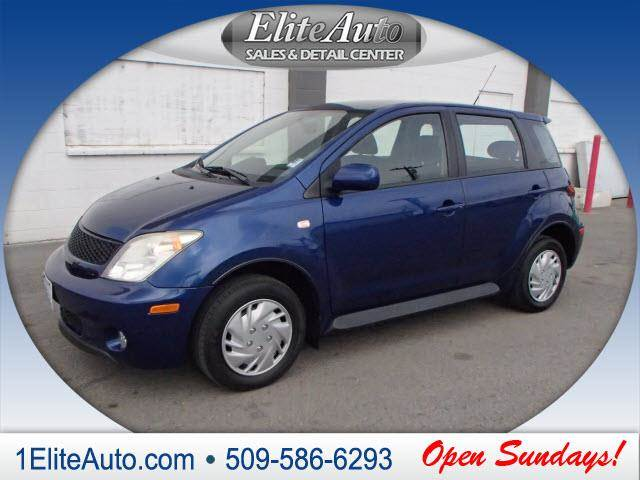 2005 SCION XA BASE 4DR HATCHBACK blue call asap  this one wont last long  carfax title history