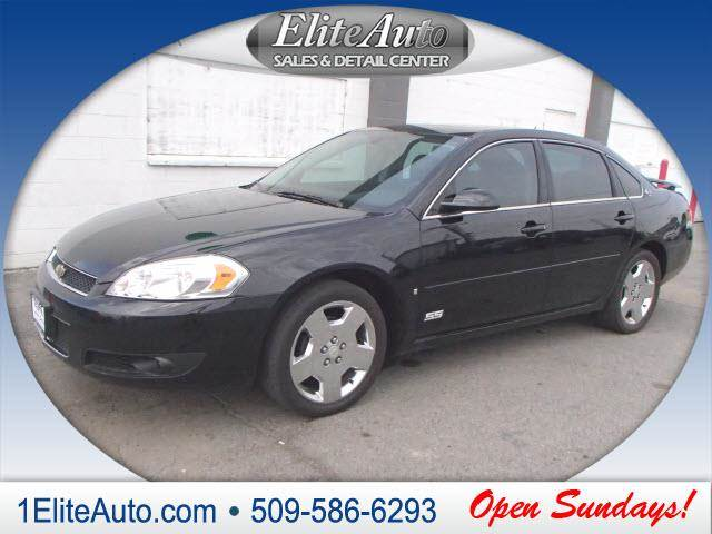 2008 CHEVROLET IMPALA SS SEDAN black come by today to see this one in person  the 2008 chevy imp