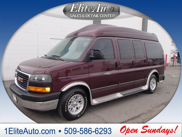 2004 GMC SAVANA maroon power steeringpower door lockspower windowsfront bucket seatsquad seat