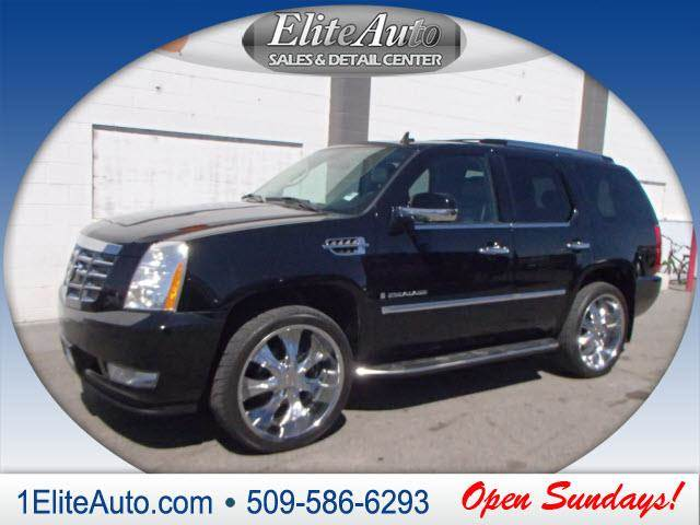 2007 CADILLAC ESCALADE BASE AWD 4DR SUV black power steeringpower door locks