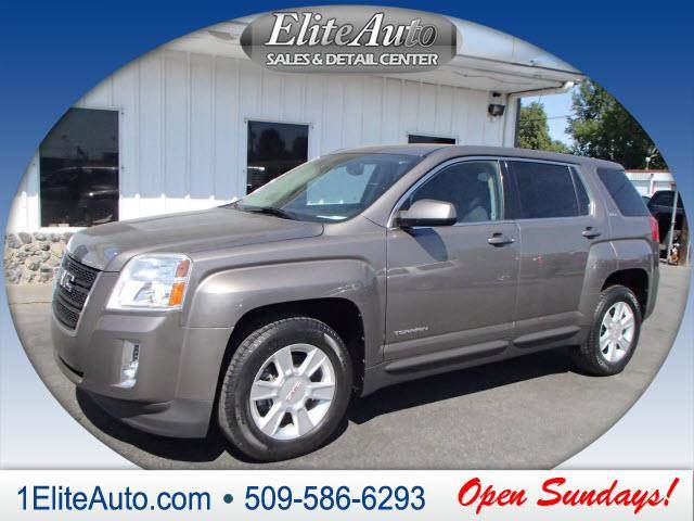 2011 GMC TERRAIN SLE-1 4DR SUV mocha power steeringpower door lockspower wi