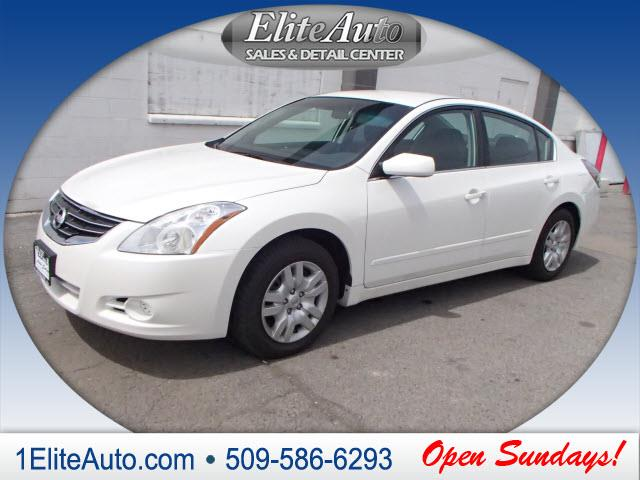 2010 NISSAN ALTIMA 25 S 4DR SEDAN white youll love the added privacy youll get with this 2010
