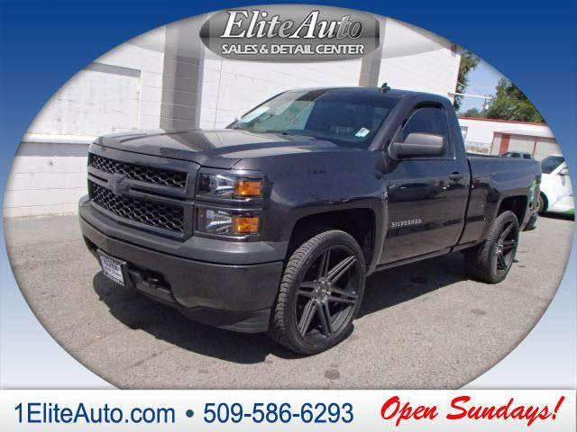 2014 CHEVROLET SILVERADO 1500 WORK TRUCK gray power steeringpower door locks