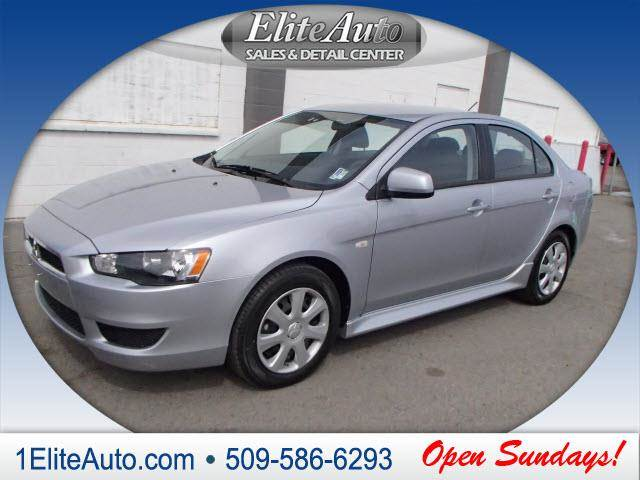 2014 MITSUBISHI LANCER ES silver another amazing dealjump on it quick  with the included tint