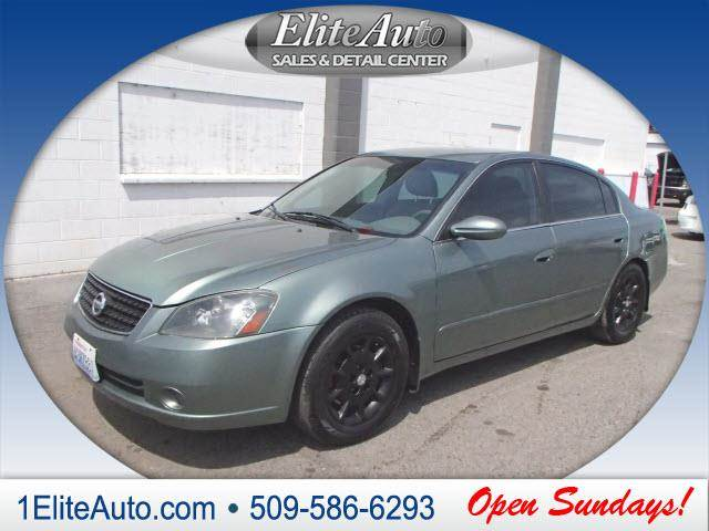 2006 NISSAN ALTIMA 25 S 4DR SEDAN WAUTOMATIC green another amazing dealjump on it quick  th