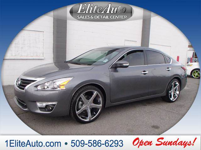 2014 NISSAN ALTIMA 25 SV 4DR SEDAN gray learning that you purchased a wrecked car is no fun rea