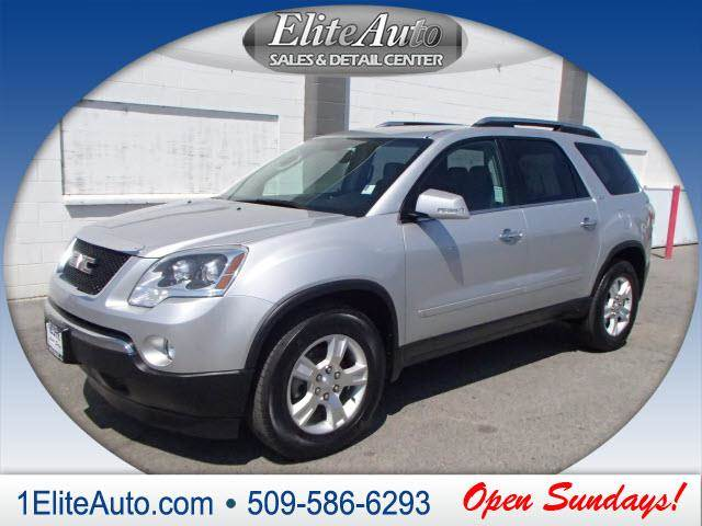 2009 GMC ACADIA SLT-1 AWD 4DR SUV silver rest assured when purchasing this 2009 acadia carfax ti
