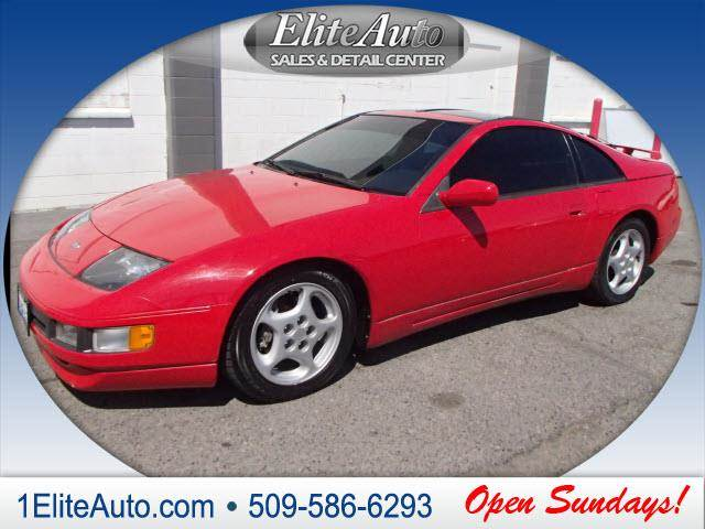 1993 NISSAN 300ZX BASE 2DR HATCHBACK red power steeringpower door lockspowe